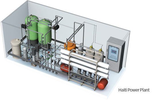 Haiti Power Plant